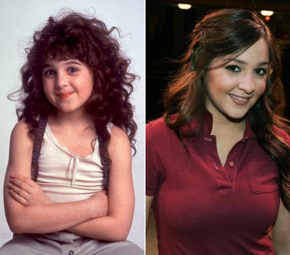 Több mint 20 év telt el: a huncut kislányból mára csinos nő lett.
