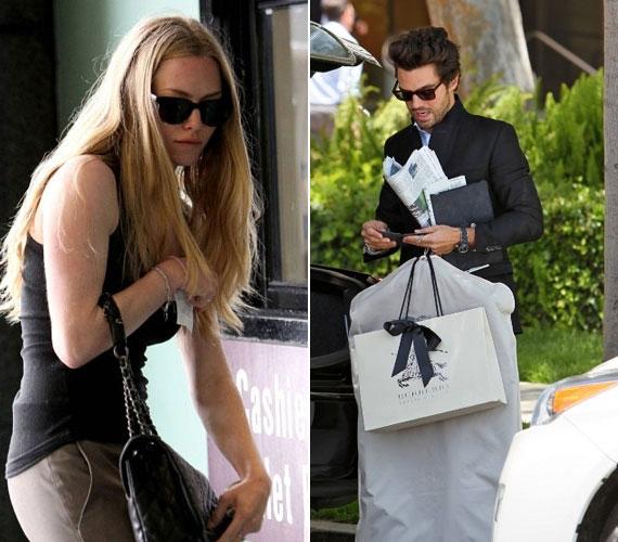 A régi-új sztárpár vásárolgatott egyet a Los Angeles-i Burberry divatüzletben, majd együtt távoztak Seyfried autójával.