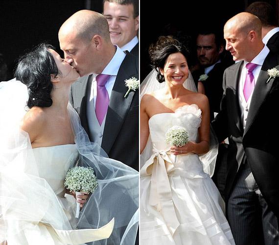 Párjával, a milliomos Bratt Desmonddal 2009-ben egy gyönyörű ceremónia keretében házasodtak össze.