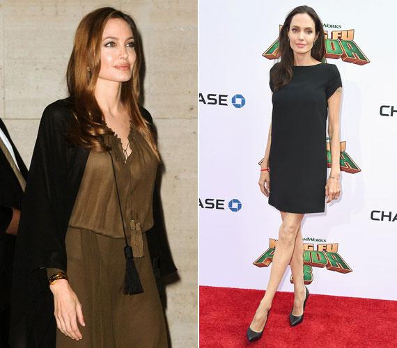Angelina Jolie két év alatt vészesen lefogyott. A magazin szerint alig eszik, magvakon él. A színésznő szerint ezek olyan tápanyagokkal látják el, amiket máshonnan nem tud a szervezetébe juttatni, ráadásul a bőre is selymes lesz tőlük.