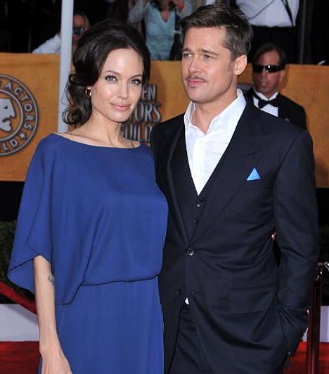 Screen Actors Guild Awards-gála  Mint egy 19. századi nemes házaspár, úgy jelent meg a népszerű páros a 2009-es Screen Actors Guild Awards-gálán Los Angelesben.  Kapcsolódó képgaléria: A 2012-es Golden Globe-gála legdögösebb sztárjai »
