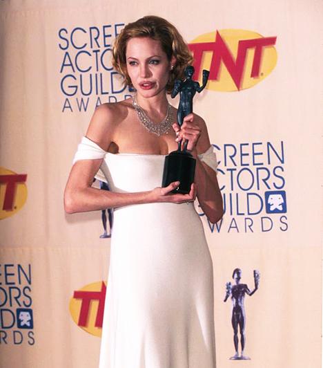 Screen Actors Guild Awards-díj  1999-ben neki ítélték a Screen Actors Guild Awards díját. Az elismerést a Kifutó a semmibe zűrös életű, biszexuális modellje, Gia megformálásával érdemelte ki.