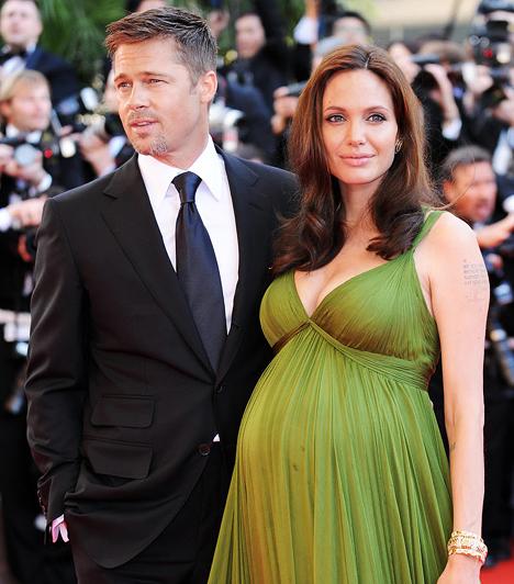 Várandósan  A 2008 májusi Cannes-i fesztiválon már hatalmas pocakkal jelent meg a színésznő, hiszen akkor már hét hónapos terhes volt az ikrekkel.