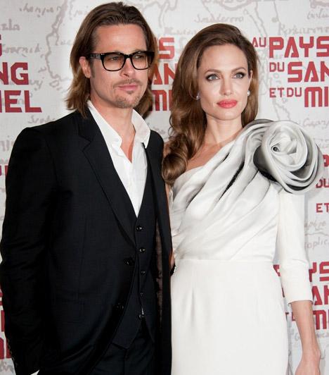 Rendezőként is bemutatkozott                         A tehetséges színésznő rendezőként is kipróbálta magát, A vér és méz földjén című drámájának több magyarországi forgatási helyszíne is volt. A fotó a film 2012-es párizsi díszbemutatóján készült Brangelináékról.