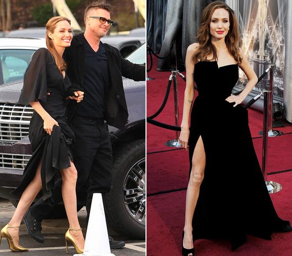 Még mindig 2012-es Oscar-gálás megjelenéséhez hasonlítják a lábmutogatós megjelenéseit.