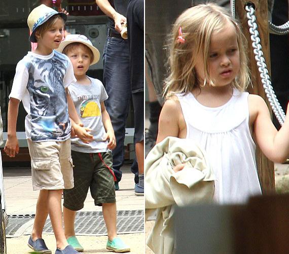 A pár vér szerinti gyermekei, Shiloh és Knox mindenhova együtt mentek, míg Knox ikertestvére, Vivenne inkább egyedül bóklászott.
