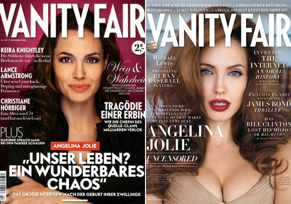 A Vanity Fairnek igazi dívaként pózolt.