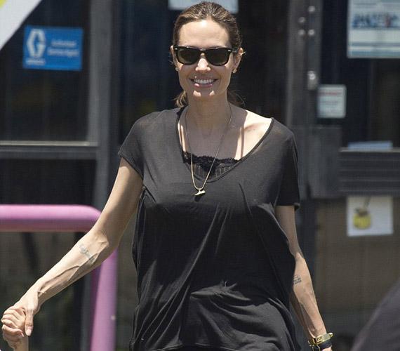 A színésznő mostanában egyre vékonyabb, családja már aggódik egészségéért.