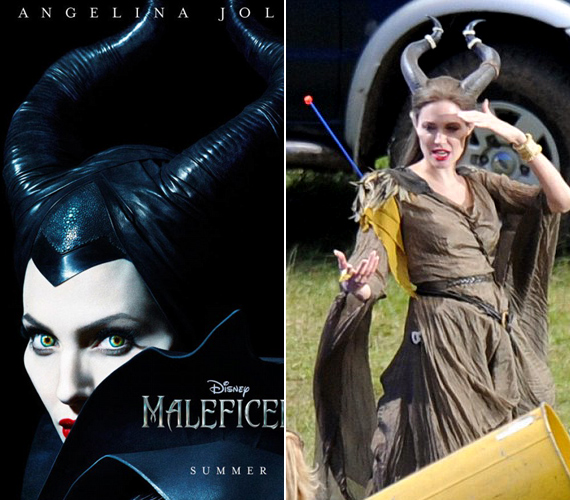 A stáb tagjai szerint lélegzetelállító volt, ahogy a színésznő beleélte magát a gonosz szerepébe.
