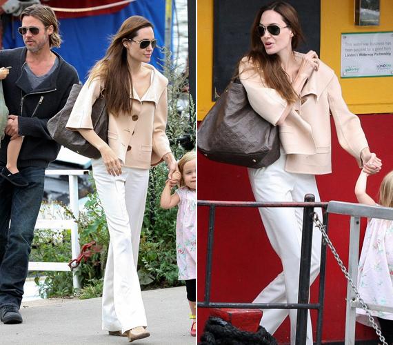 Angelina Jolie pár éve még dúskeblű, érzéki színésznőként hódított, mára viszont csak árnyéka egykori önmagának, csontos karjára szinte fáj ránézni.