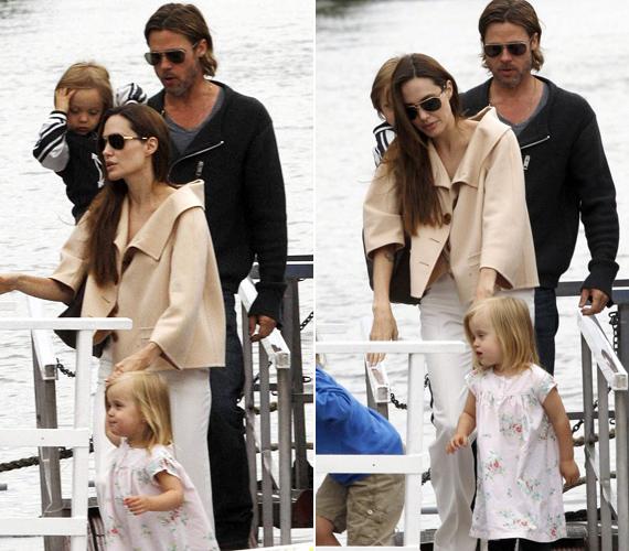 A múlt héten egyes lapok hírként hozták le, hogy a londoni zavargások miatt Jolie és a kicsik is veszélyben voltak, de ebből természetesen semmi nem volt igaz.