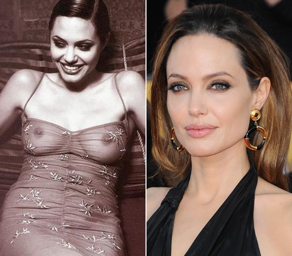 Jolie-t megválasztották a legszebb meztelenkedő sztárnak is a Kifutó a semmibe című filmje kapcsán.