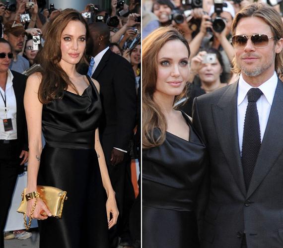 Brad és Angelina remekül megosztják a feladatokat, most, hogy a színész sorozatban forgat, a színésznő vigyáz a hat eleven lurkóra.