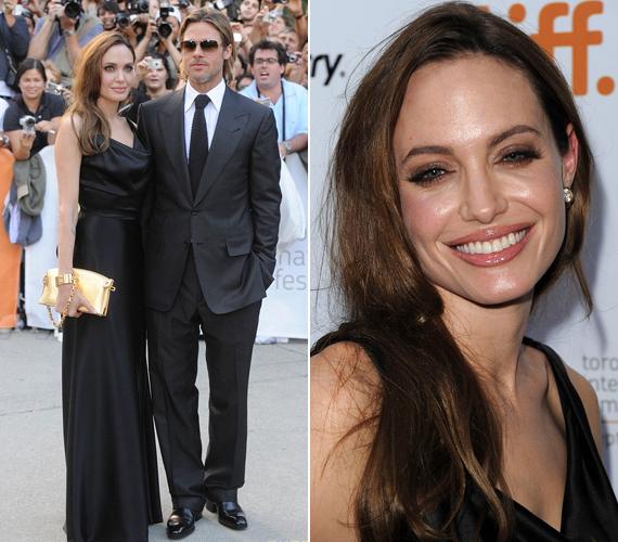 Jolie a Vanity Fair októberi számában tisztázta a pletykákat, kijelentette, hogy nem esküdtek meg titokban, nem terhes, és nem tervez adoptálást sem.