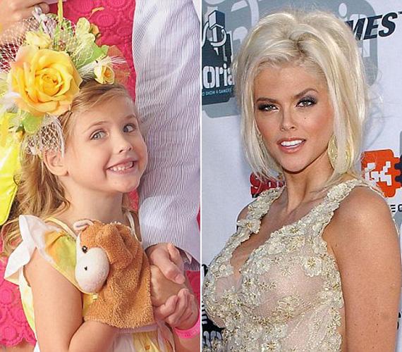 Külsőre nagyon hasonlít a tragikusan elhunyt édesanyjára, Anna Nicole Smith-re.