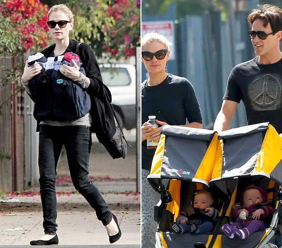 Kétpetéjű ikreik, Charlie és Poppy tavaly szeptemberben jöttek világra.