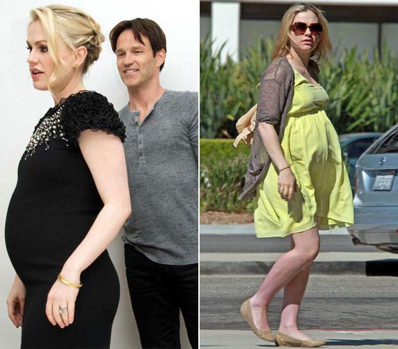 Stephen Moyer színésszel a sorozat forgatásán ismerkedett meg 2007-ben. 2009 augusztusában bejelentették eljegyzésüket, a következő évben pedig összeházasodtak. Tavaly áprilisban jelentették be, hogy gyermekáldás elé néznek.