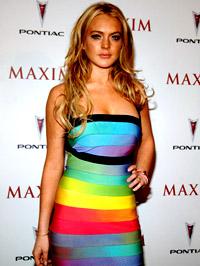 Ilyen Lindsay, mint nő.