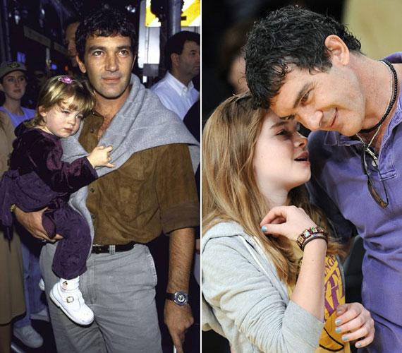 Az 51 éves spanyol színészt nem követi a pályán kamasz lánya, aki határozottan leszögezte, nem álmodik színésznői karrierről.