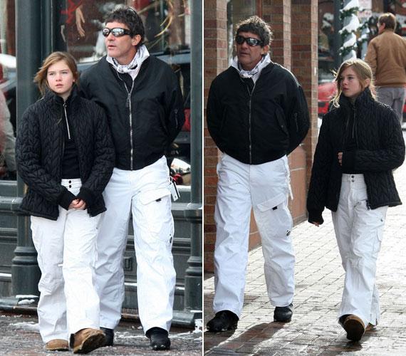 2008 decemberében egy karácsony előtti bevásárlókörúton 12 éves kislányként.