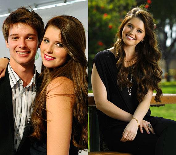 Öccse, a 18 éves Patrick piszkosul jóképű pasi lett, nem véletlen, hogy modellkedéssel is foglalkozik.