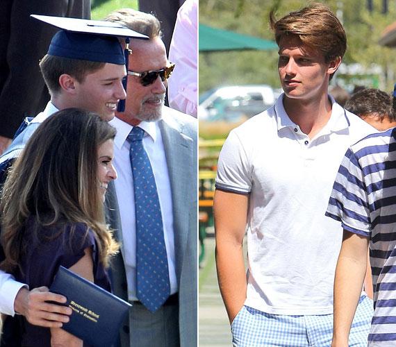 A 18 éves fiú piszkosul jóképű pasi lett, így szülei nem csak az esze miatt lehetnek büszkék rá.