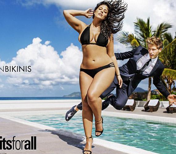 - A világ készen áll a gömbölyebb formákra bikiniben is - állítja a magazin, ezzel magyarázva, miért változtattak a szokásukon.