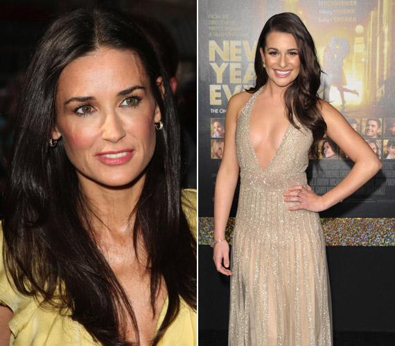 A két színésznő közt nem lehet nem észrevenni a hasonlóságot.