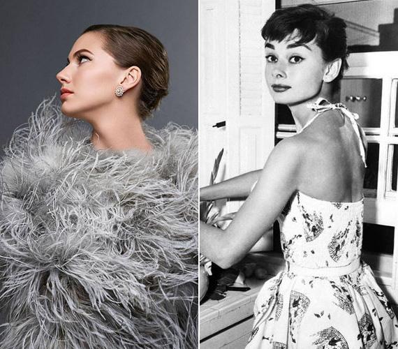 Emma szerint sok közös van benne és Audrey Hepburnben: mindkettőjükben ég a vágy, hogy segítsenek az embereknek és a világot jobbá tegyék, szerinte ez egyszerűen a génjeiben van. Így aztán nem bánja, ha a híres színésznőhöz hasonlítgatják, sőt, inkább büszke rá.