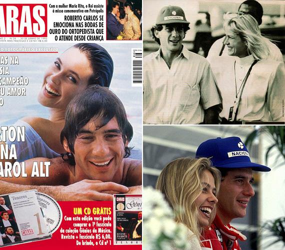 Kevesen tudják, de egy rövid ideig házas volt, gyermekkori ismerősét vette el 1981-ben, de egy évvel később el is váltak, mert felesége rájött, hogy Sennának az első helyen mindig is a versenyzés fog állni. Később járt több szép nővel, egy időben Carol Alt amerikai modellhez fűzte viszony, halála idején Adriane Galisteu tévésztár volt a párja.