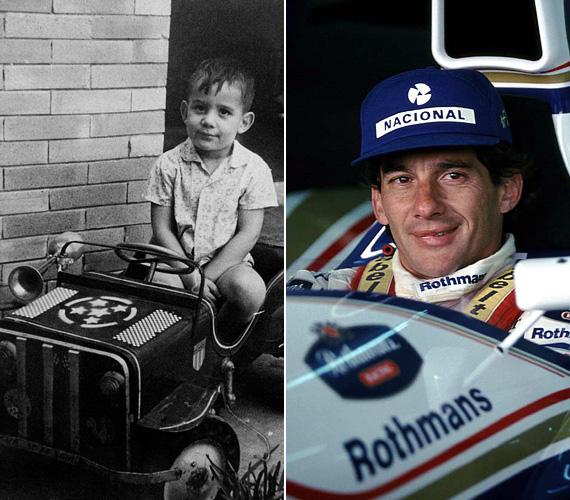 Ayrton Senna gazdag brazil családba született bele középső gyerekként, apja földbirtokos és gyártulajdonos volt. Alig volt négyéves, amikor beült élete első gokartjába, és onnantól megpecsételődött az élete. Háromszor lett Forma-1-es világbajnok, 2000-ben pedig bekerült a Nemzetközi Motorsportok Hírességeinek Csarnokába. Személyisége sokakat elvarázsolt, milliók példaképévé vált kitartásával.