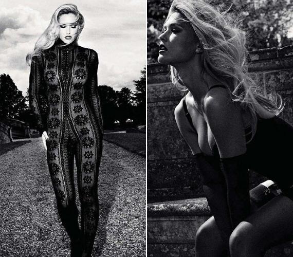 A 27 éves modell szerepel a GQ magazin decemberi számában - igazán szexi képeket készítettek róla.