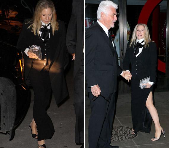 A csinos színésznő az eseményre férjével, James Brolinnal érkezett, aki a mai napig rajong érte.