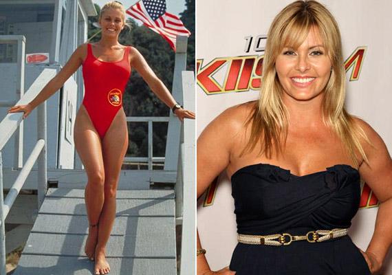 Nicole Eggert 1992-ben csatlakozott a vízimentők csapatához - akkoriban szépségével és bombaalakjával keltett feltűnést, az évek során sajnos igencsak meghízott.