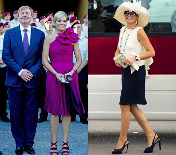 Maxima királyné az élénkebb pink után egy visszafogottabb összeállítást választott a héten.
