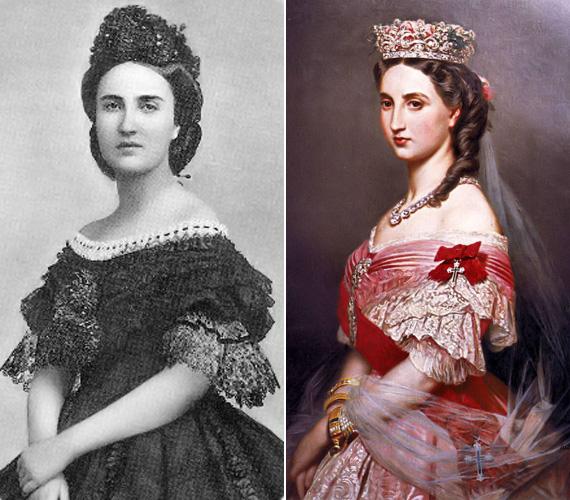 Marie Charlotte belga hercegnő 1870-ben született, majd a Habsburg-házba házasodott be. Ő lett a felesége Ferenc József öccsének - vagyis ő volt Sissi sógornője.