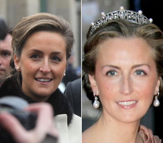 Claire hercegné '74-es születésű, és 2003-ban házasodott be a belga uralkodói családba.