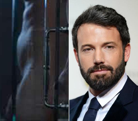 A 42 éves Ben Affleck, akiről a napokban derült ki, hogy gyermekei huszonéves dadájával csalta meg feleségét, Jennifer Garnert, a 2014-es Holtodiglan című film zuhanyzós jelenetében villantotta meg férfiasságát, amikor anyaszült meztelenül állt a kamera elé.