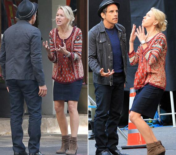 A feszültség minden jele látszik a két színészen, játékuk hiteles.