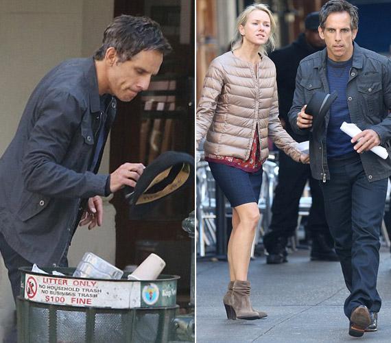 Ben Stillert ritkán látni ilyen drámai hangulatban.