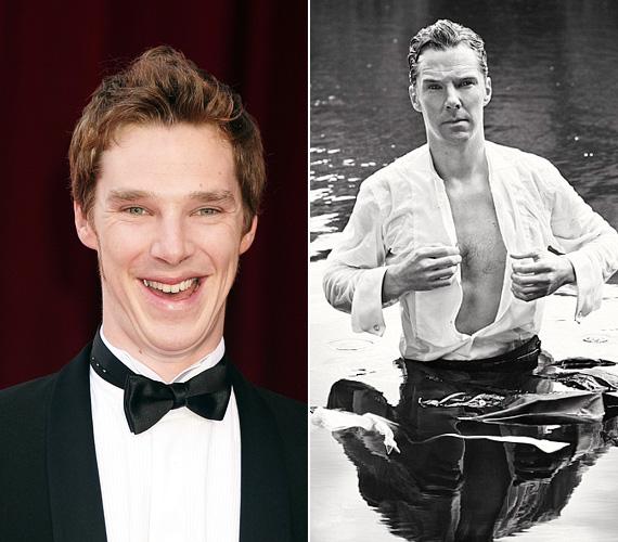 Bár Benedict Cumberbatch nem kifejezetten jóképű, mégis van benne valami ellenállhatatlan sárm, ami megfogja a nőket. A színész legutóbb egy kifejezetten szexi képen, vizes ruhában volt látható: a fotó az Add a ruhád jó célra elnevezésű kampányhoz készült, és egy kiállítás darabja lett, a jegyekből származó bevételt ajánlják fel jótékonyságra.