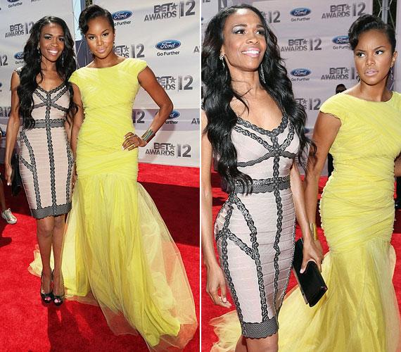A Destiny's Childból ismert LeToya Luckett Michelle Williamsszel állt a fotósok elé.