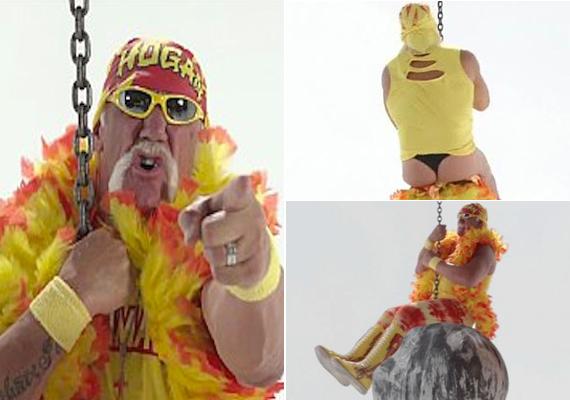 Az egykori pankrátor, Hulk Hogan is beszállt a versenybe.