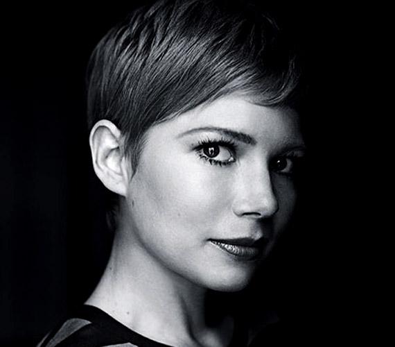 Michelle Williams bebizonyítja, hogy a rövid haj is gyönyörűvé varázsolhat egy nőt: az olvasók szavazatai alapján hetedik lett.