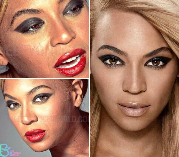 A retusálatlan képeket Beyoncé rajongói nyomására vették vissza.