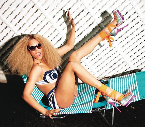 Beyoncé pedig bármikor kapható egy kis bolondozásra.