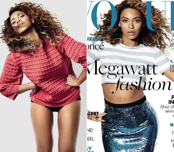 A Vogue magazinnak azt mondta, hogy bár szereti a férjét, hisz a feminizmus eszméiben is.