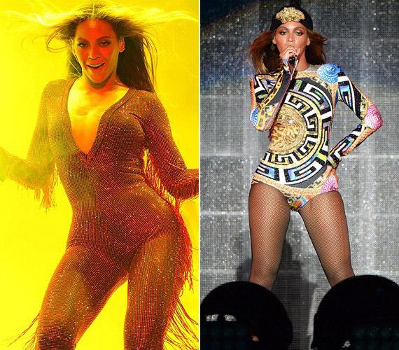 Hasonló kezeslábast hord koncertjein Jennifer Lopez is.
