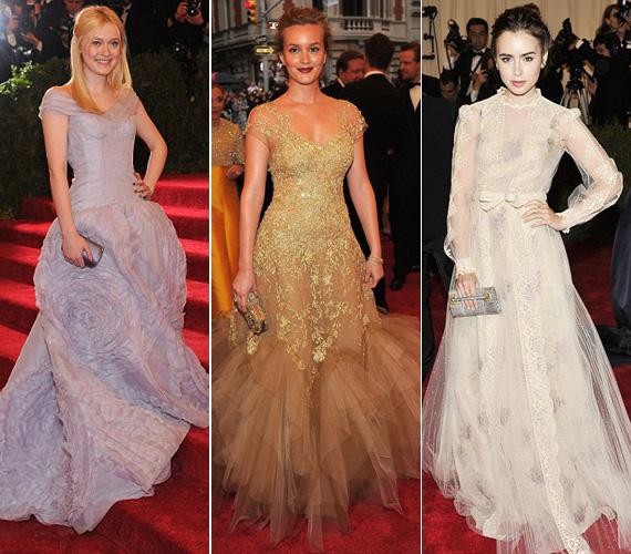 A tinisztár Dakota Fanning, A pletykafészek sztárja, Leighton Meester és Lilly Collins is hercegnőként tündököltek.