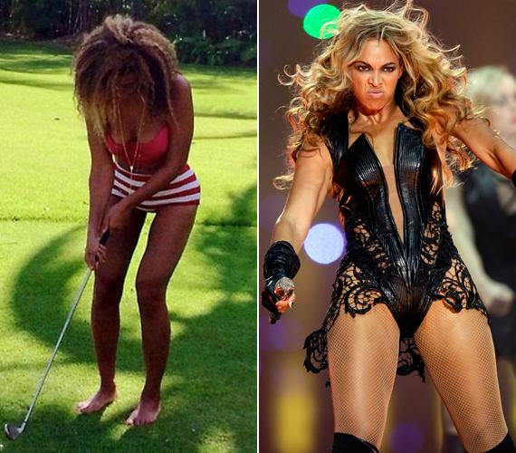 Beyoncé eleve fogyott az utóbbi időben, ezért érthetetlen, miért nem volt elégedett a combjával.